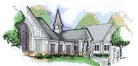 Mendon Church Drawing